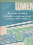 Revista Lumea 20/1987
