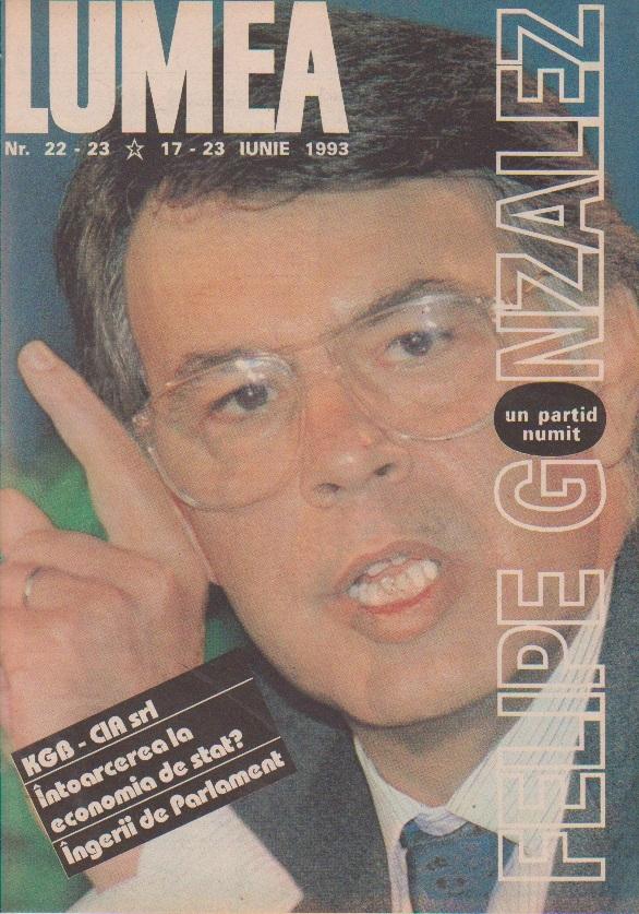 Revista Lumea, nr. 22-23/1993