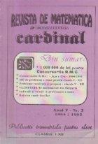 Revista de matematica Cardinal, Nr. 2 / 1994-1995