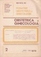 Revista de Obstetrica si Ginecologie, Aprilie-Iunie, 1976