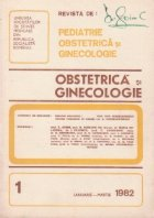 Revista de Obstetrica si Ginecologie, Ianuarie-Martie, 1982