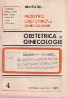 Revista de Obstetrica si Ginecologie, Octombrie-Decembrie, 1989