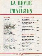 La revue du praticien, No 24, 21 Octobre 1990