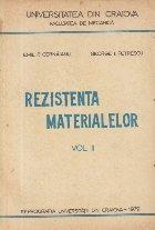 Rezistenta Materialelor, Volumul al II-lea