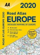 AA Road Atlas Europe 2020