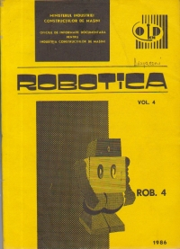 Robotica, Volumul 4 - Unitati robotizate realizate in URSS si RSC. Catalog
