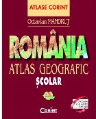 Romania Atlas geografic scolar