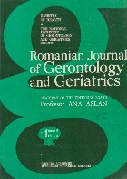 Romanian Journal of Gerontology and Geriatrics, Tome 5, No. 1/1984
