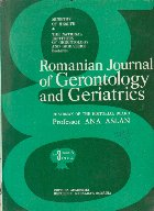 Romanian Journal of Gerontology and Geriatrics, Tome 5, No. 3/1984