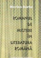 Romanul de mistere in literatura romana