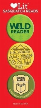 Sasquatch Reads Button Assortment