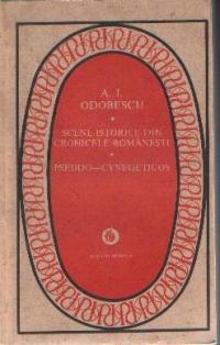 Scene istorice din cronicele romanesti. Pseudo-cynegeticos