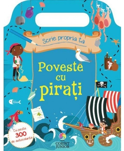 Scrie propria ta poveste cu piraţi