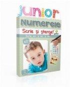 Scrie si sterge. Junior - Numerele