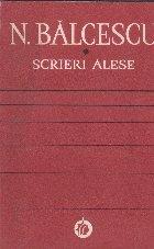 Scrieri Alese - N. Balcescu