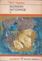 Scrieri istorice Volumele