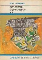 Scrieri istorice Volumul lea