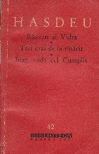 Scrieri literare Razvan Vidra Trei
