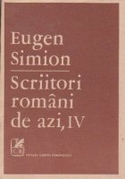 Scriitori romani de azi, IV