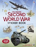 Second World War sticker book