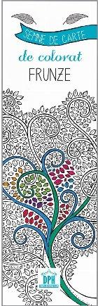 Semne de carte de colorat - Frunze