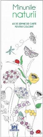 Semne de carte de colorat - Minunile Naturii
