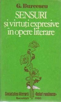 Sensuri si virtuti expresive in opere literare