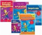 Set caiete grupa mare 5-6 ani (3 carti) - Voi fi scolar. Descopera cu mine. Invatam, rezolvam