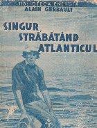 Singur, strabatand Atlanticul