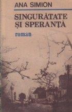 Singuratate speranta (roman)