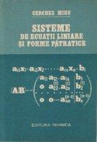 Sisteme de ecuatii liniare si forme patratice