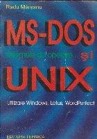 Sistemele de operare MS-DOS si UNIX - Utilizare Windows, Lotus, WordPerfect