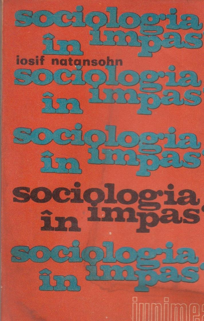 Sociologia in impas?