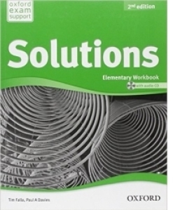Solutions Elementary Workbook and Audio CD Pack Second Edition