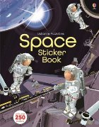 Space sticker book