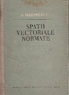 Spatii vectoriale normate