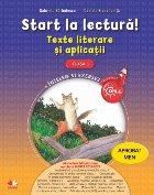 Start lectură Texte literare și