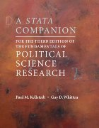 Stata Companion for the Third Edition of The Fundamentals of