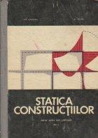 Statica constructiilor - Manual pentru scoli postliceale, Anul II