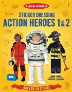 Sticker Dressing: Action heroes 1 & 2