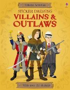 Sticker Dressing Villains and outlaws