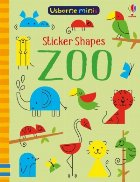 Sticker shapes zoo