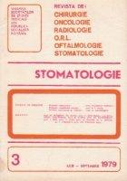 Stomatologia - Revista a societatii de stomatologie, Iulie-Septembrie 1979