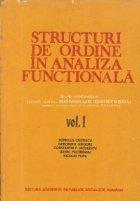 Structuri ordine analiza functionala Volumul