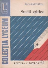 Studii critice
