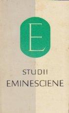 Studii eminesciene (75 ani moartea