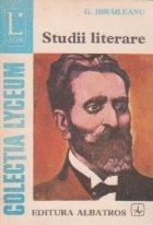Studii literare (G. Ibraileanu)