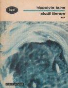 Studii literare Volumul