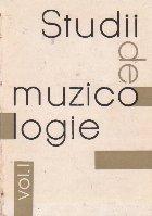 Studii muzicologie Volumul