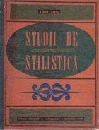 Studii de stilistica (Tudor Vianu)